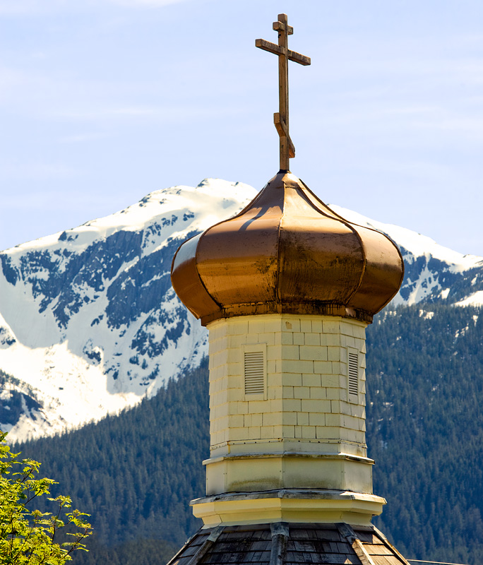 National Register #73000377: St. Nicholas Russian Orthodox Church in Juneau