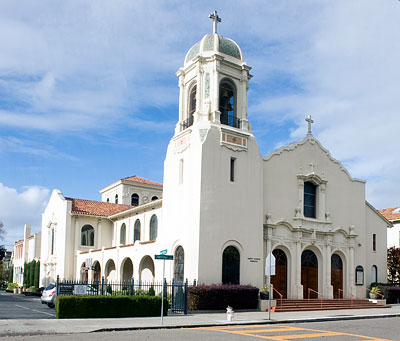 National Register #78000642: Saint Josephs Basilica in Alameda, California