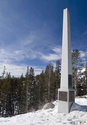 Point Of Historical Interest Snowshoe Thompson In Carson
