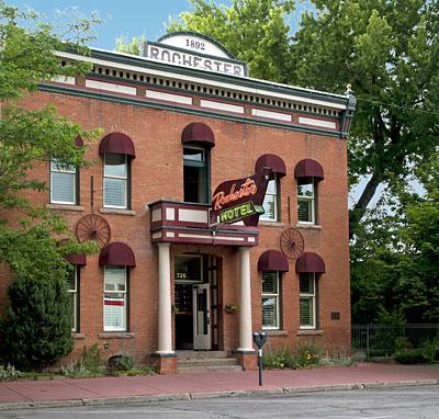 National Register 96000200 Rochester Hotel In Durango Colorado