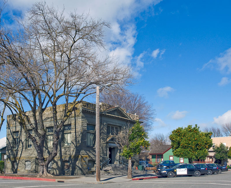 National Register #90001816: Carnegie Library in Colusa