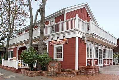 Point Of Historic Interest In Antioch California Danville Hotel