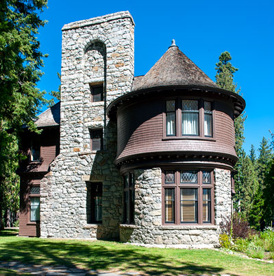 Hellman-Ehrman Mansion in Sugar Pine Point State Park Designed by Walter Danforth Bliss