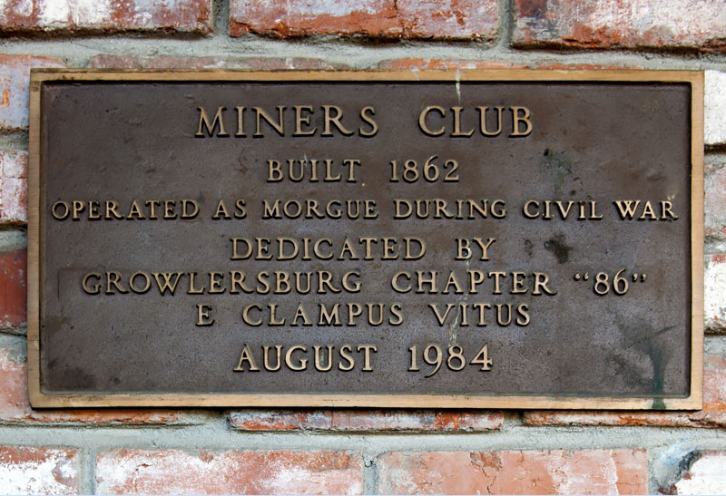 Miners Club in Georgetown