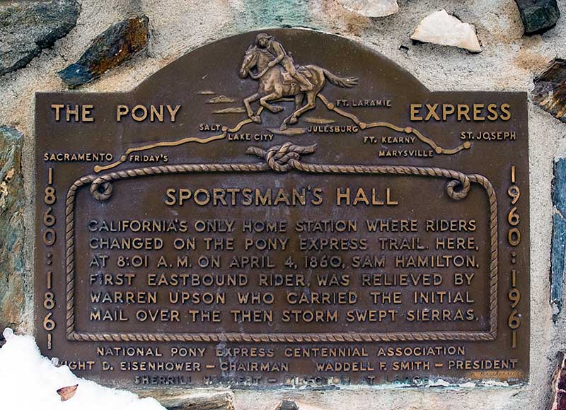 California Historical Landmark #704: Sportsman