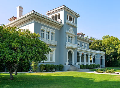 National Register #83001178: Brix Mansion in Fresno, California