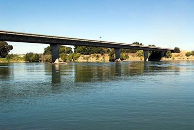 California Route 32 Bridge Over the Sacramento River