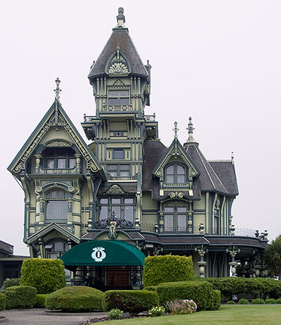 carson mansion in eureka california - Mansion Architectural Styles