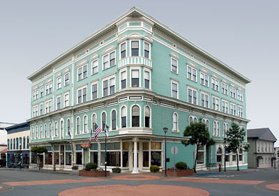 Vance Hotel In Eureka Old Town Historic District