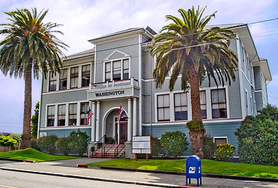 National Register #02000329: Washington School in Eureka, California