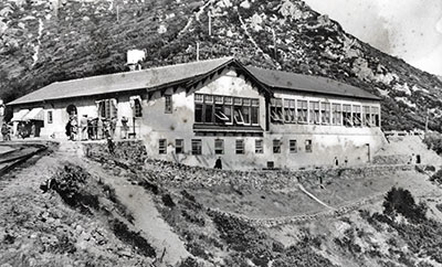 Tavern of Tamalpais Built in 1924