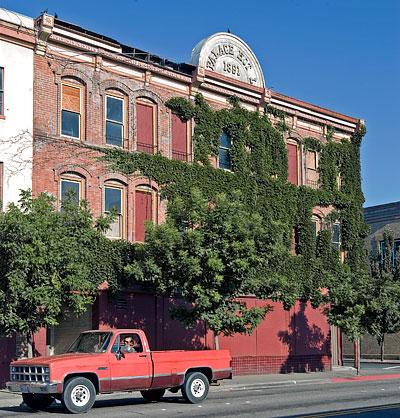 Manchester Schoolhouse In Mendocino County California
