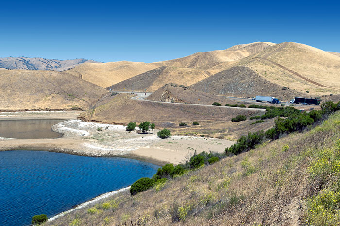 Reservoirs in san luis obispo county california for Lopez lake fishing