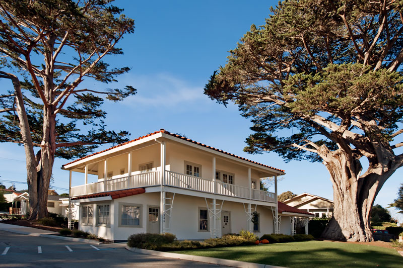 California Historical Landmark #351: Vásquez House in Monterey