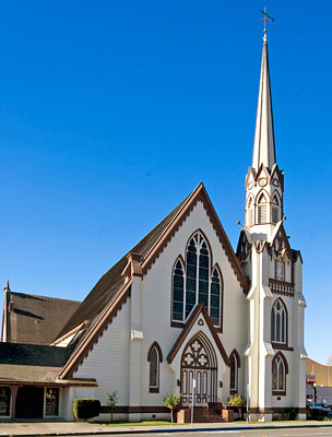 National Register #75000446: First Presbyterian Church in Napa, California