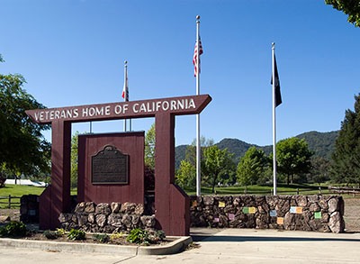 California Landmark 828 Veterans Home Of In Yountville