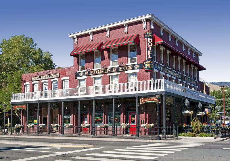 National Register 82003209 St Charles Muller S Hotel In Carson City Nevada