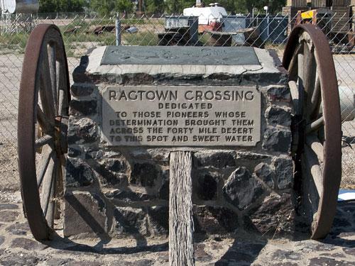 Nevada Historic Marker 19: Ragtown