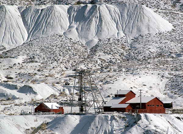 Mizpah Mine in Tonopah, Nevada
