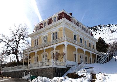 Nevada Historical Landmark 87 Savage Mansion In Storey County