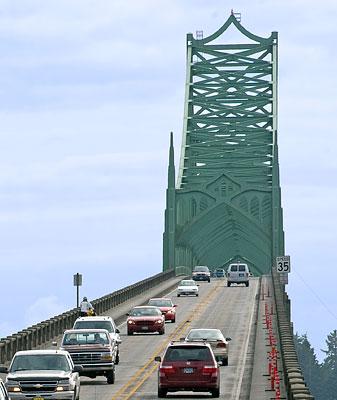 McCullough Bridge North Bend Oregon