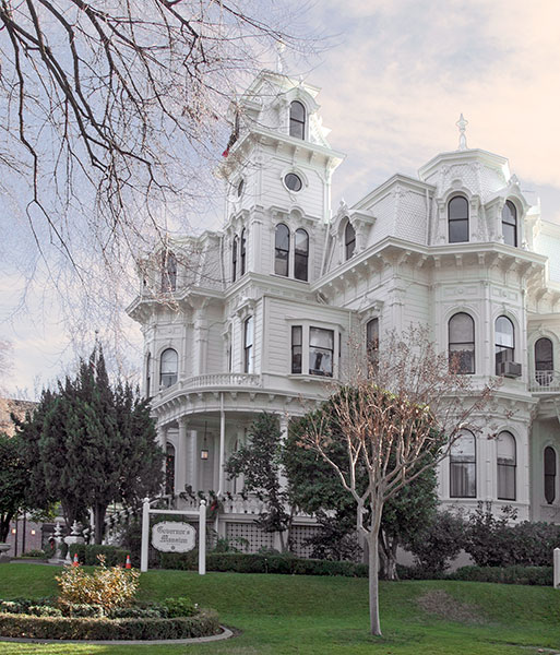 California Historical Landmark 823 Governor Mansion In Sacramento