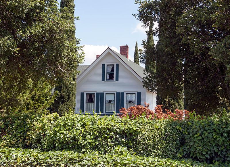 Runyon House Near Courtland, California