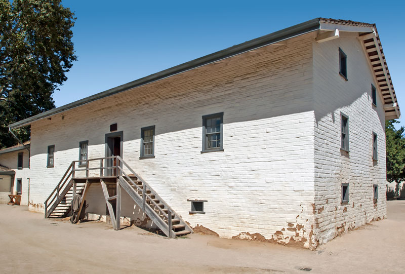 National Register #66000221: Sutter's Fort Original Adobe Building