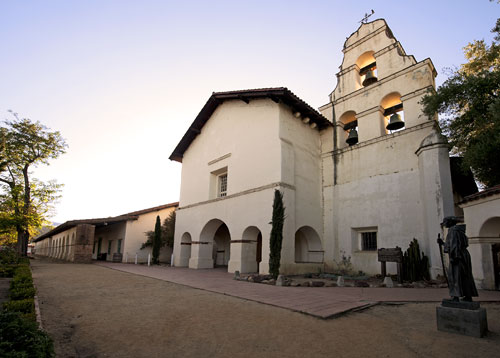 california historical landmark 195 mission san juan bautista and plaza