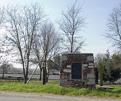 Site of Lone Star Mill Near Clements, California
