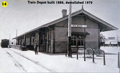 National Register #78003519: Southern Pacific Railroad Depot