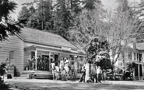 Honda Redwood City >> California Historical Landmark #343: Old Store at La Honda in San Mateo County