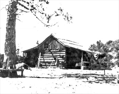 National Register #79000547: Original Madulce Cabin In 1904