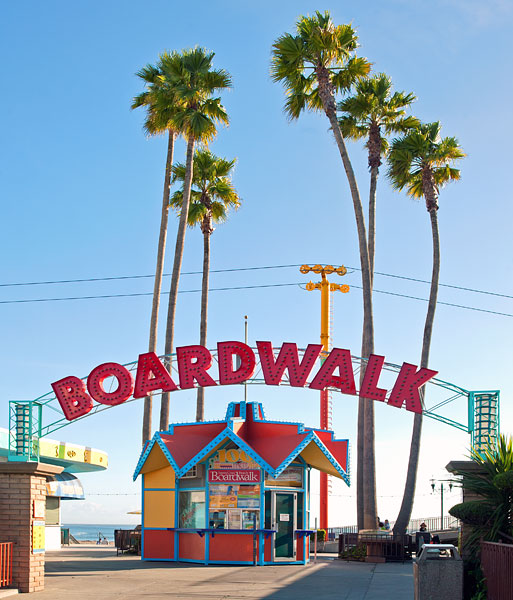 California Historical Landmark 983 Santa Cruz Beach Boardwalk