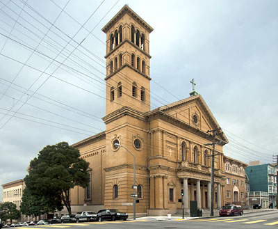 Sacred Heart Church in San Francisco