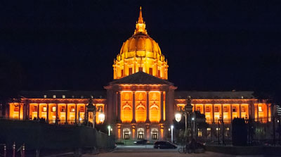 San Francisco City Hall Designed by Bakewell & Brown