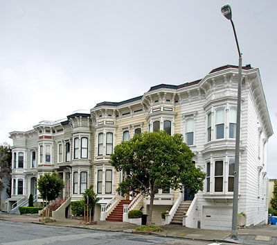 San Francisco Historic District Webster Street