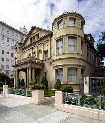 San Francisco Landmark 75 Whittier Mansion