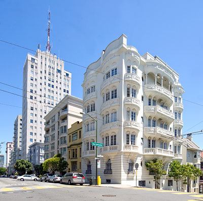 National Register #84001184: Chambord Apartments on Nob Hill