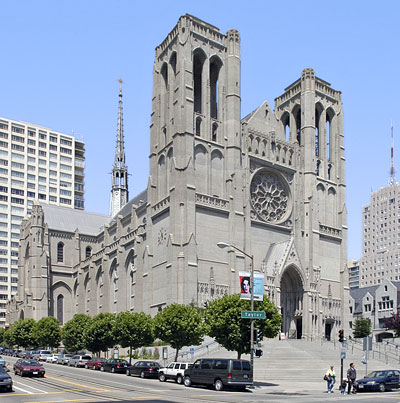 San Francisco Landmark #170: Grace Cathedral Close