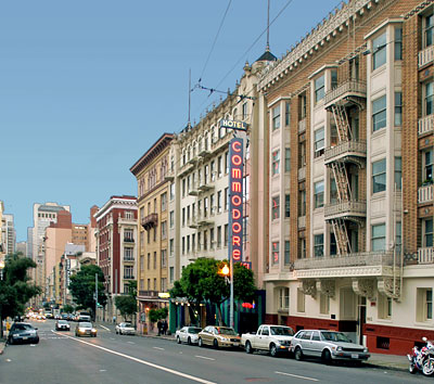 National Register 91000957 Lower Nob Hill Apartment Hotel District