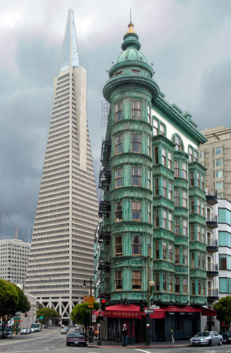 Architecture Buildings In San Francisco san francisco landmark #33: sentinel building