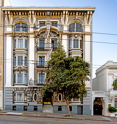 2135 Sacramento Street in San Francisco Designed by Conrad Meussdorffer