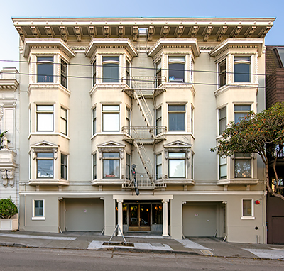 2153 Sacramento Street in San Francisco Designed by Edward E. Young