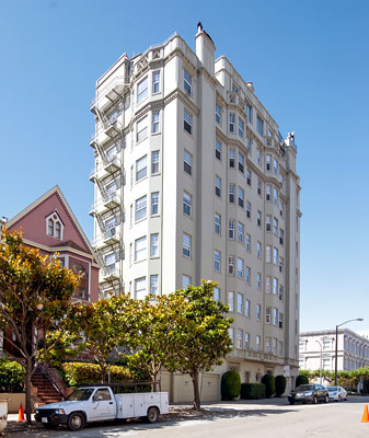 2299 Pacific Avenue in San Francisco Designed by Conrad Meussdorffer