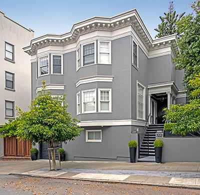 3221 Washington Street in San Francisco Designed by Edward E. Young