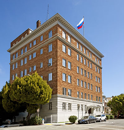Russian Consulate in San Francisco Designed by Edward E. Young