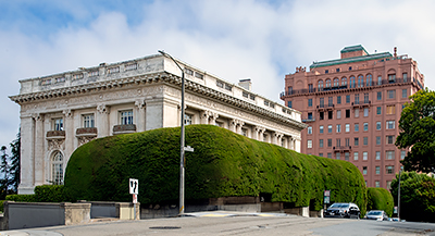 Spreckels Mansion and 2006 Washington Street in San Francisco