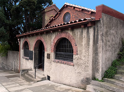 National Register #04001154: Swedenborgian Church in San Francisco
