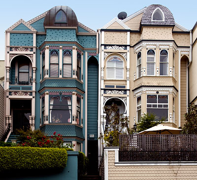 National Register 85001914 Albert Wilford Houses In San Francisco